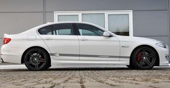 BMW serii 5 Prior Design tuning grudzien 2011