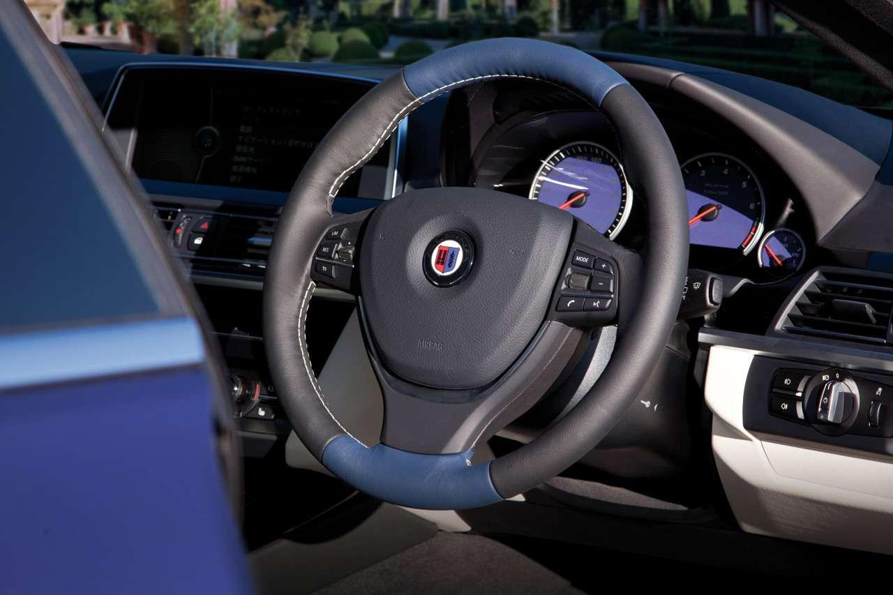 BMW Alpina B6 Bi-Turbo Coupe tokio grudzien 2011