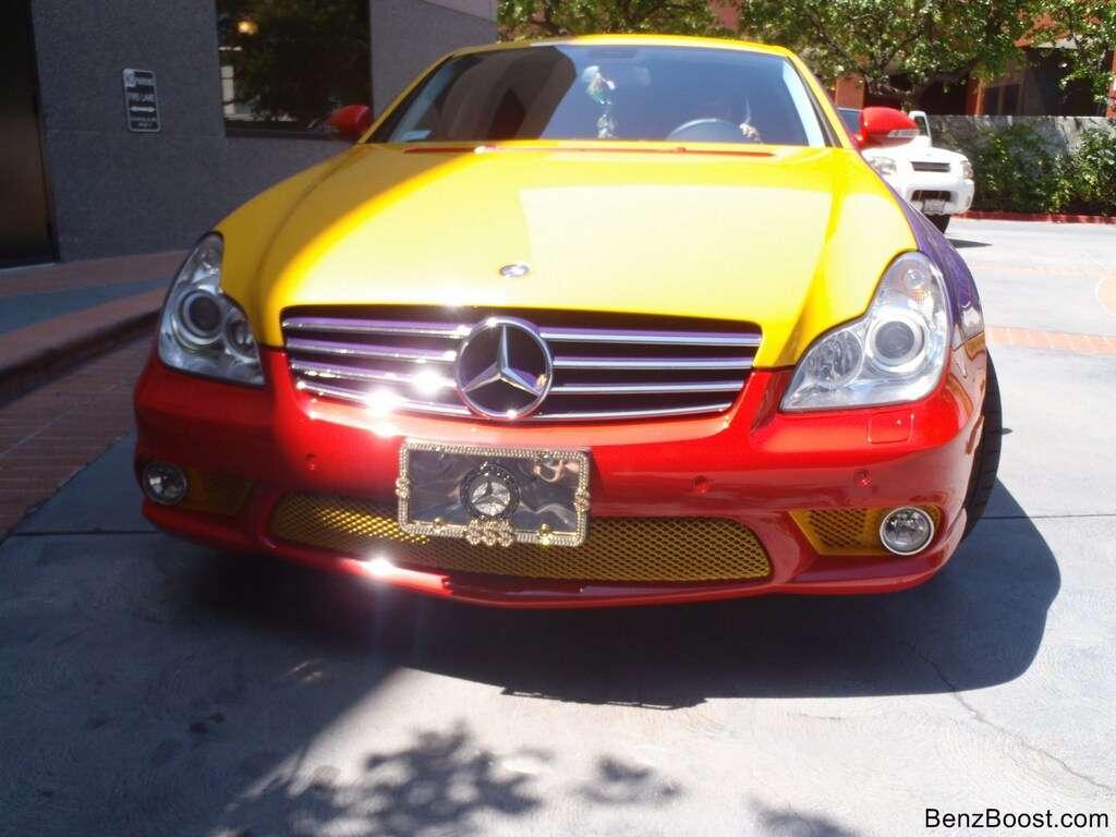 Mercedes-Benz CLS 550 multikolor fot grudzien 2011