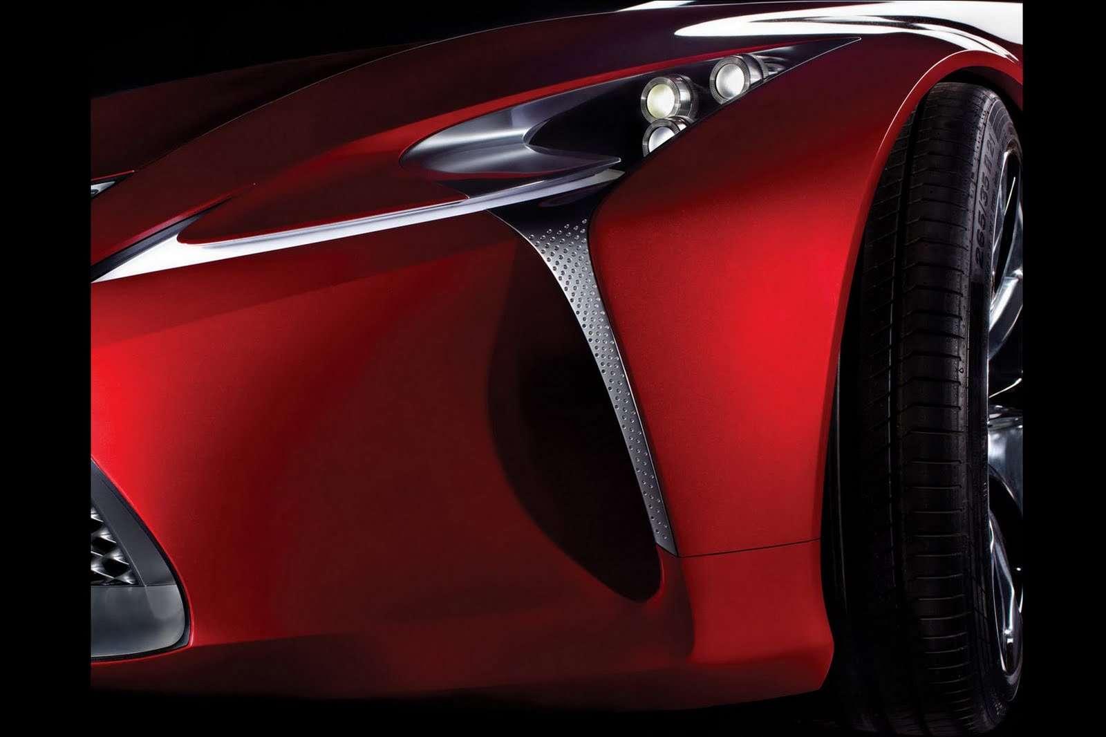 Lexus concept teaser grudzien 2011