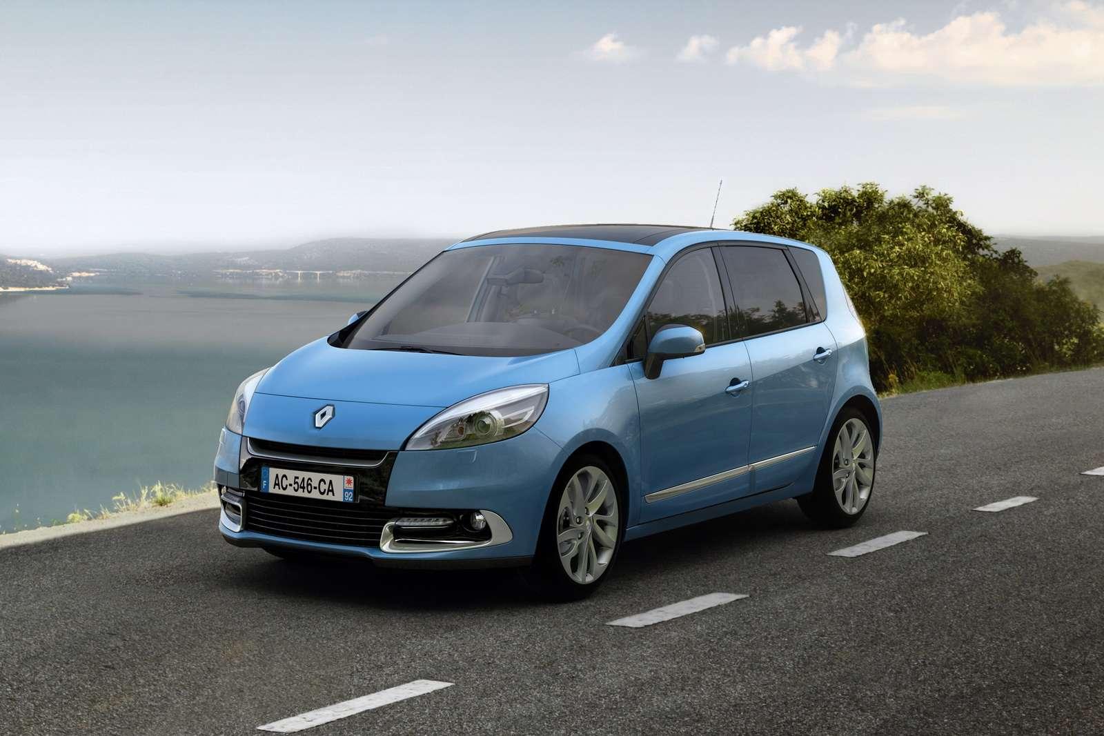 Renault Scenic 2012 fot grudzien 2011