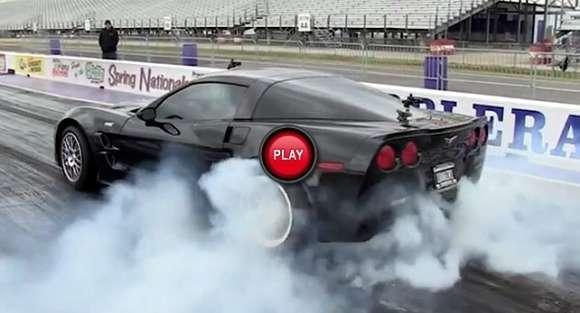 Najszybszy Chevrolet Corvette: drag race