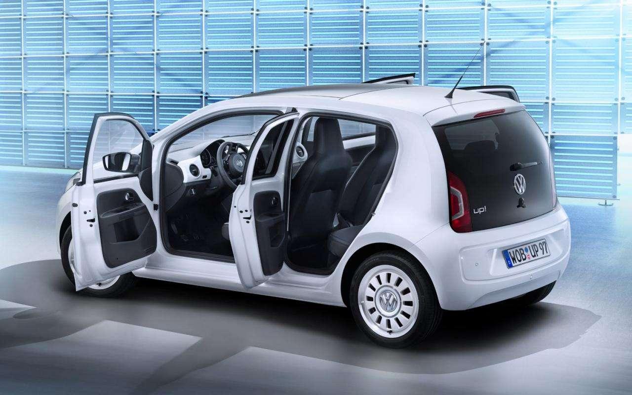 Volkswagen Up 5 drzwi fot styczen 2012