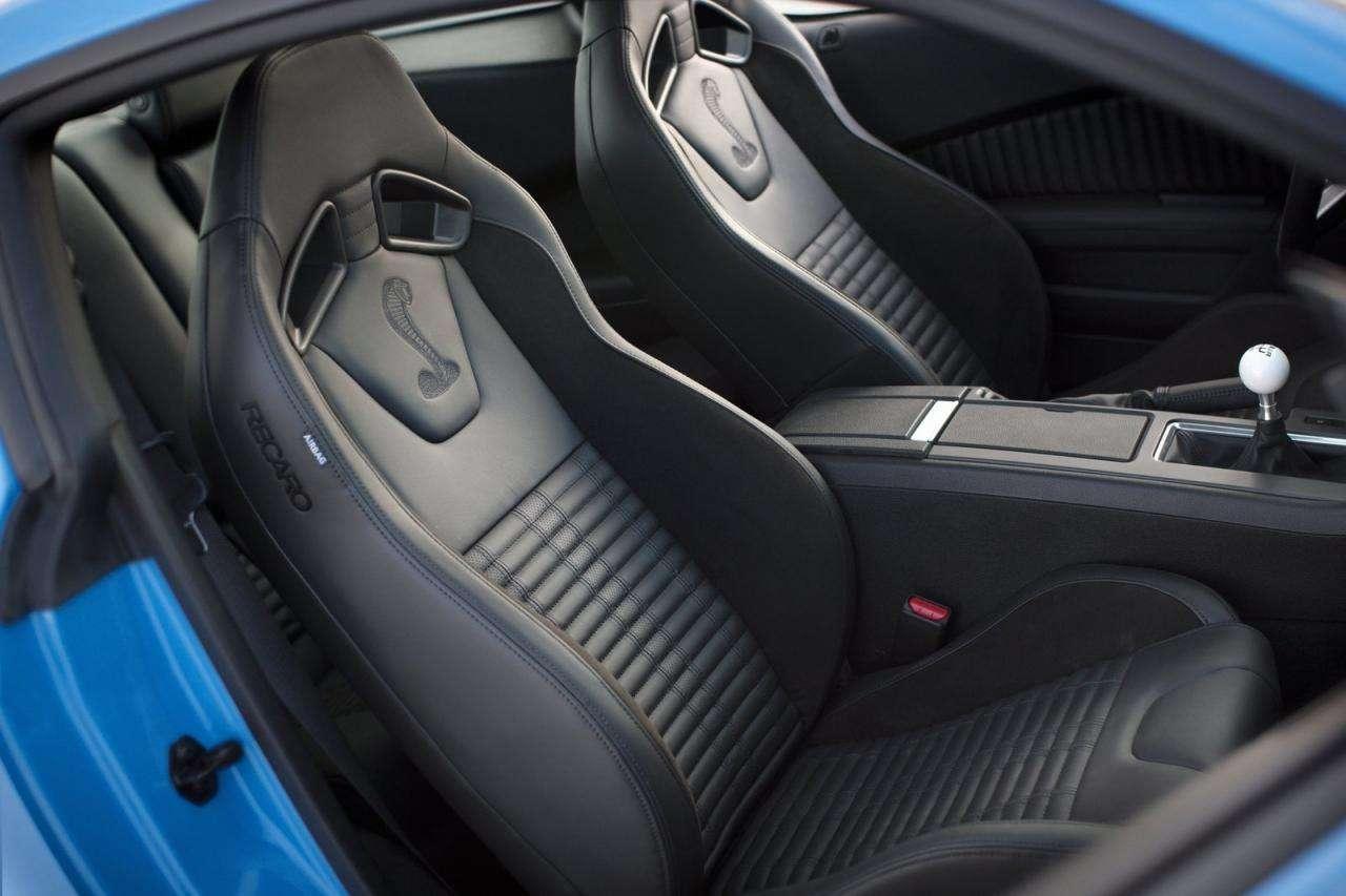 Shelby GT500 w jedynym niepowtarzalnym egzemplarzu styczen 2012