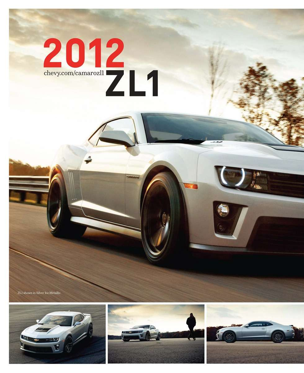 Chevrolet Camaro ZL1 w oficjalnej zapowiedzi fot styczen 2012