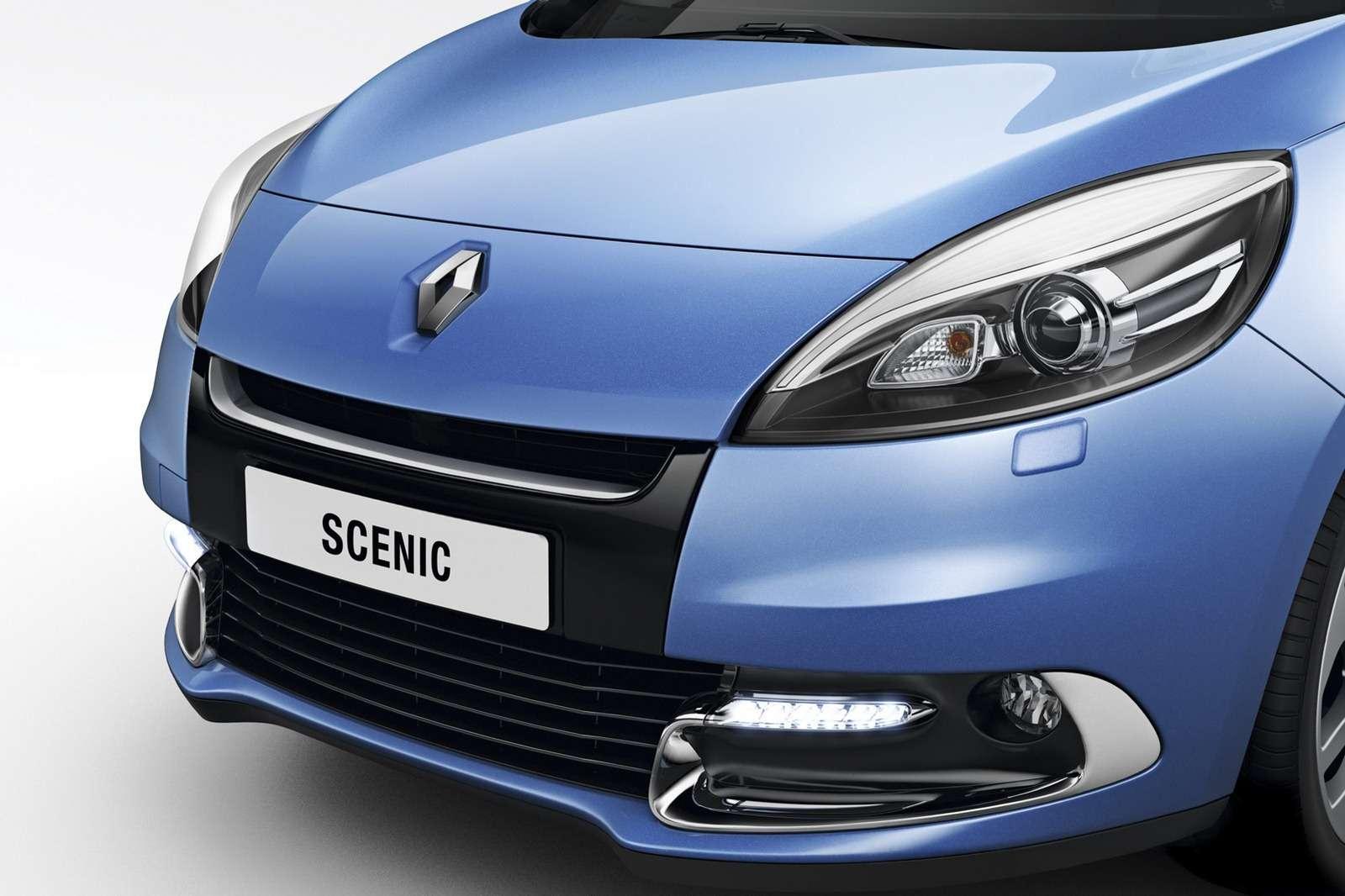 Renault Scenic Grand Scenic 2012 rok styczen 2012