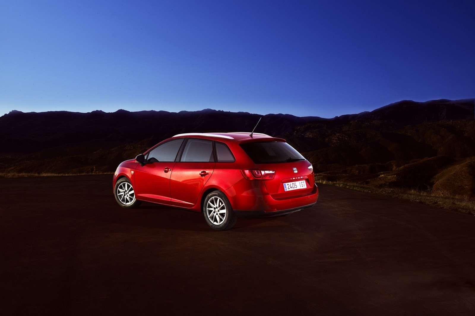 Seat Ibiza facelifting fot styczen 2012