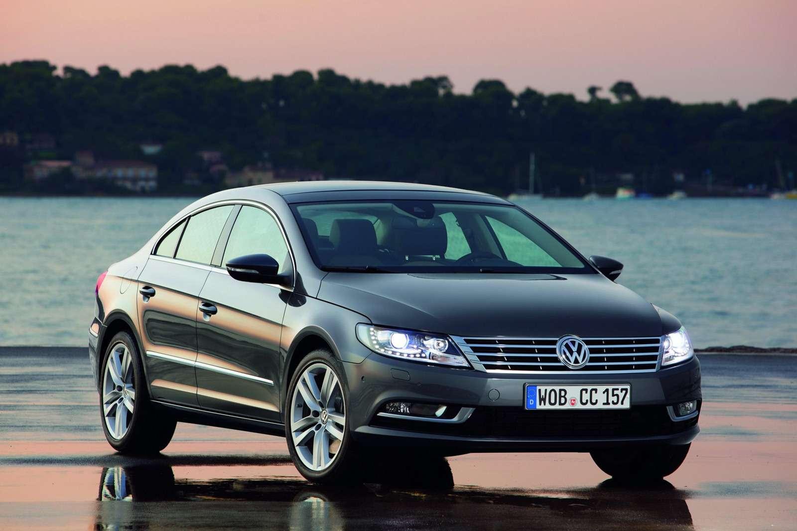 Volkswagen CC nowe foto styczen 2012