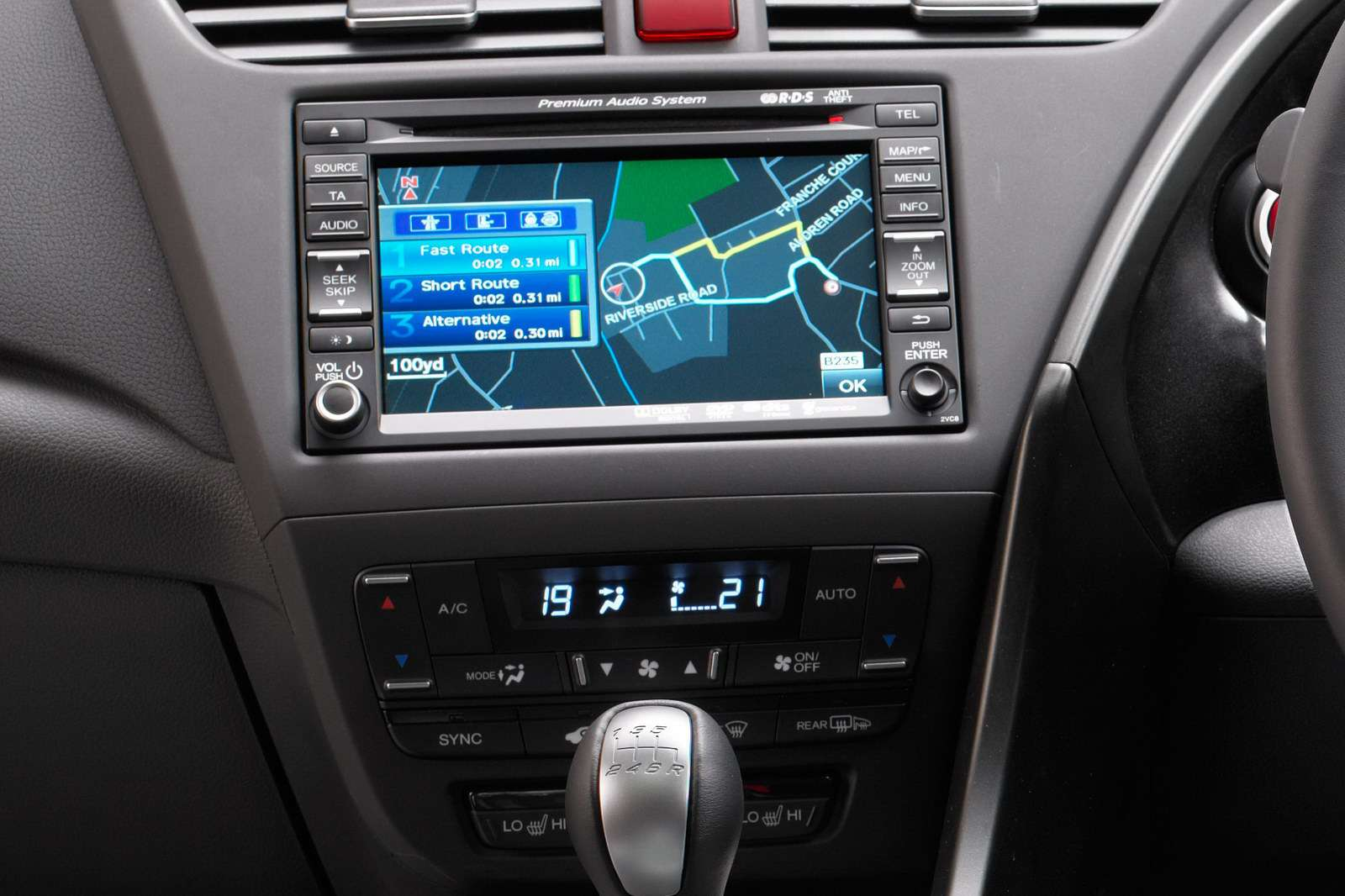 2012 Honda Civic 2012 fot przed frankfurt wrzesien 2011