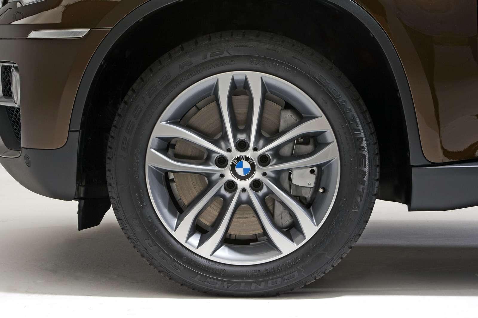 BMW X6 po faceliftingu styczen 2012