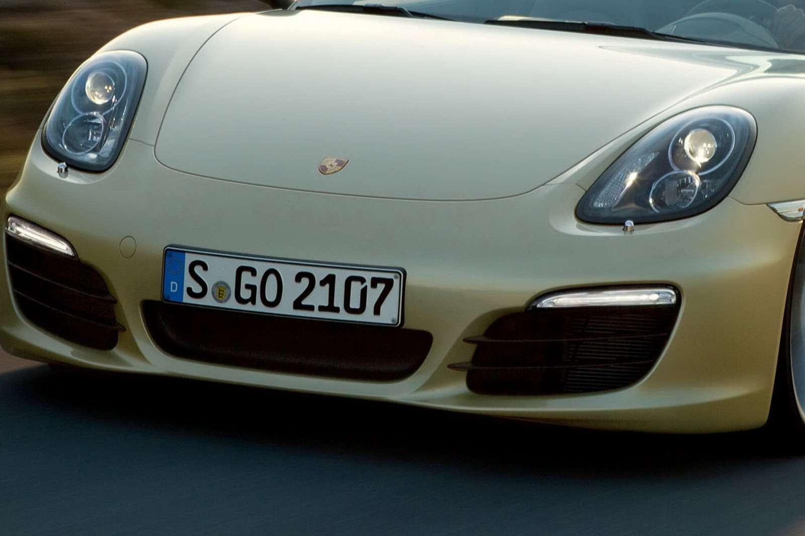 Porsche Boxster 2013 fot lifting styczen 2012