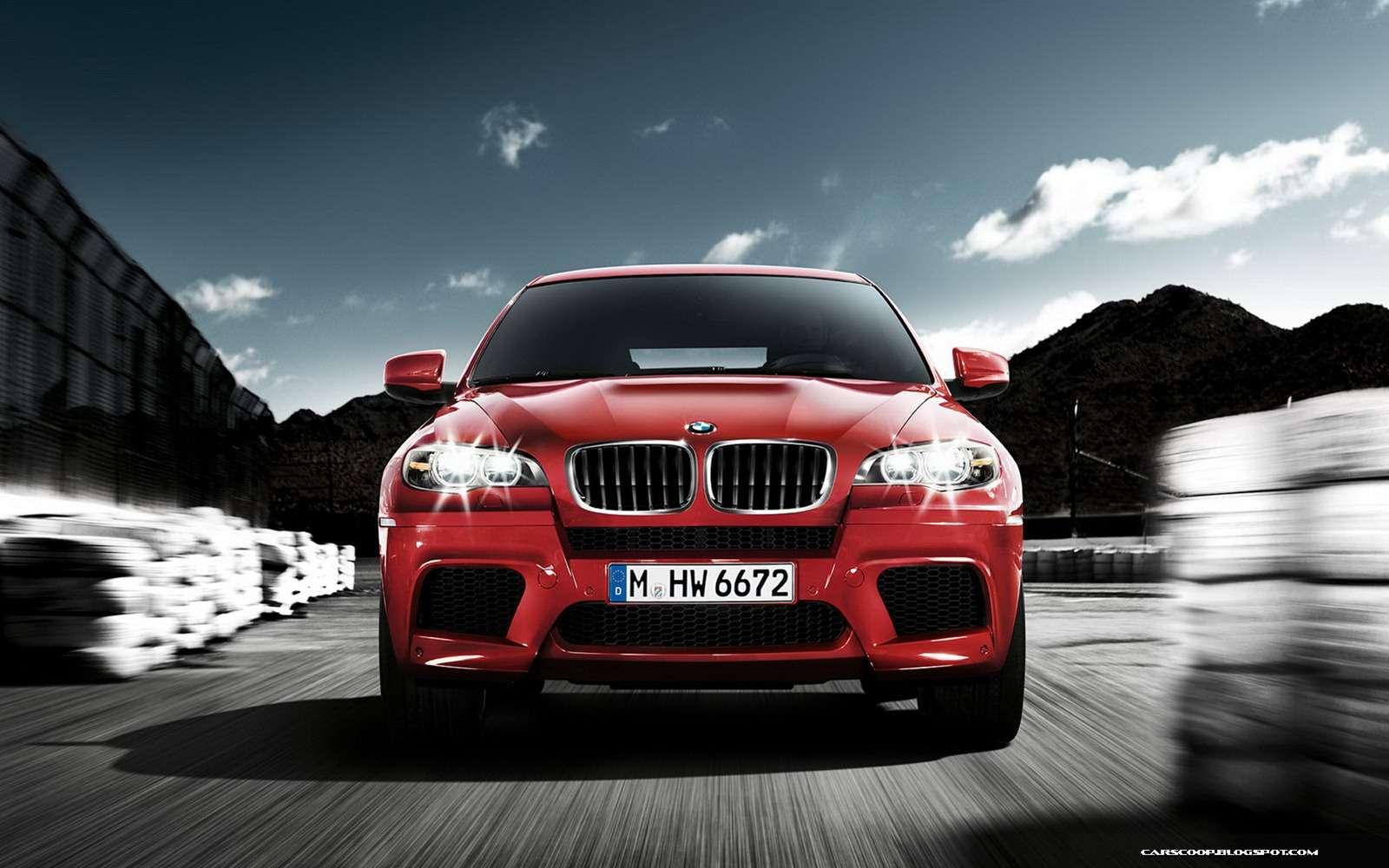BMW X6M 2013 fot styczen 2012
