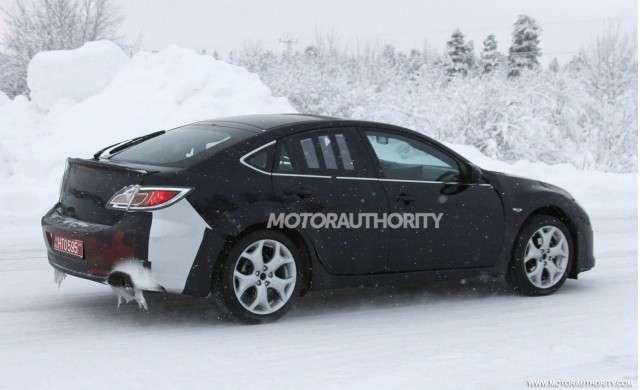 Mazda 6 fot szpieg fot styczen 2012