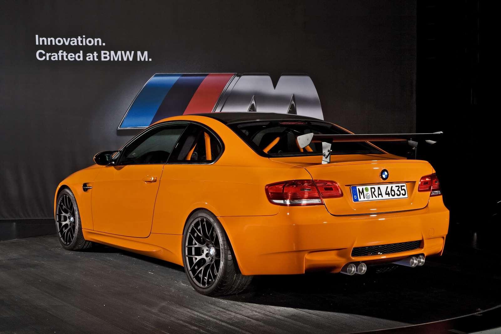2011 BMW M3 GTS 2009