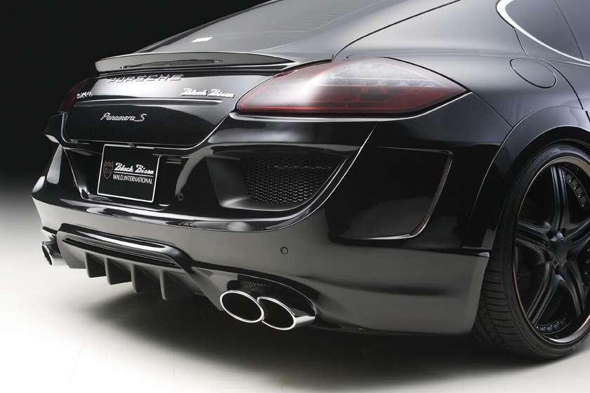 Porsche Panamera WALD tuning styczen 2012