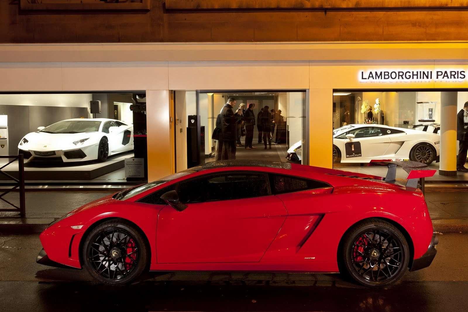 Lamborghini nie chce korzystac z turbodoladowania fot styczen 2012