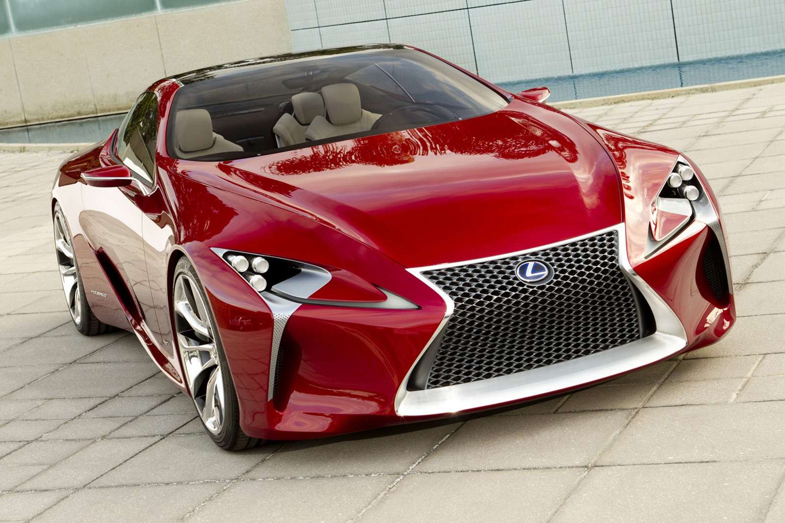 Lexus LFLC concept more photo styczen 2011