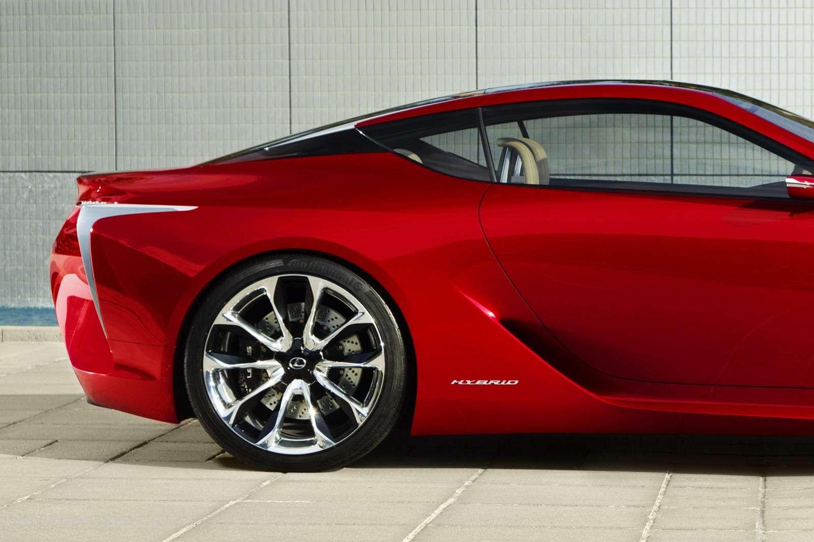 Lexus LFLC concept more photo styczen 2011
