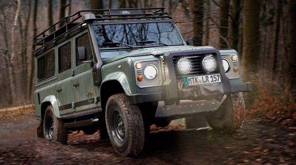 lr defender blaser edition 1 glo