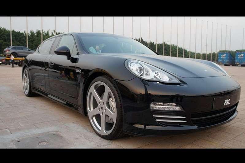 Porsche panamera przedluzona RUF styczen 2012