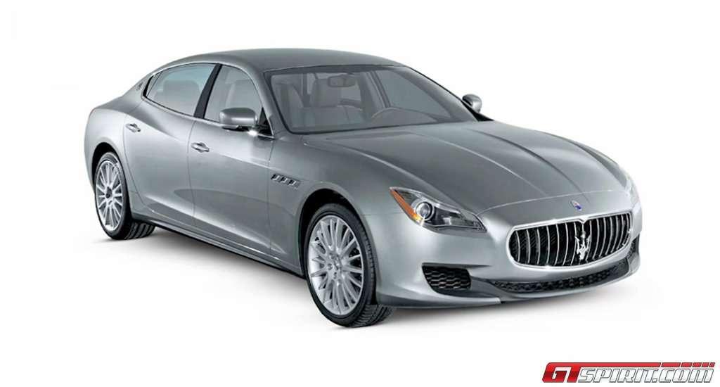Maserati Quattroporte 2012 fot gtspirit styczen 2012