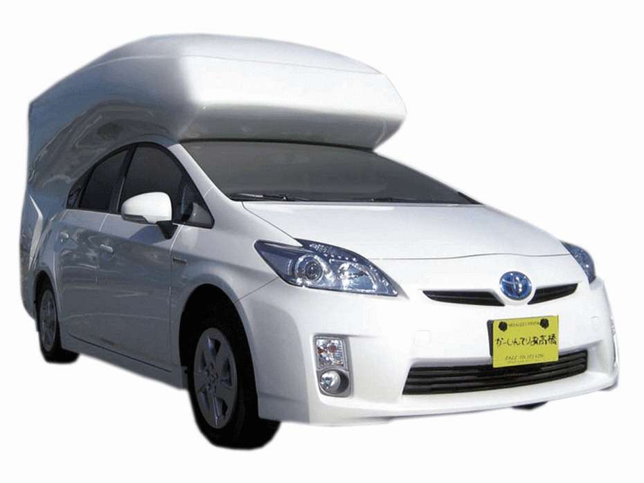 Toyota Prius Kamper fot campinn styczen 2012