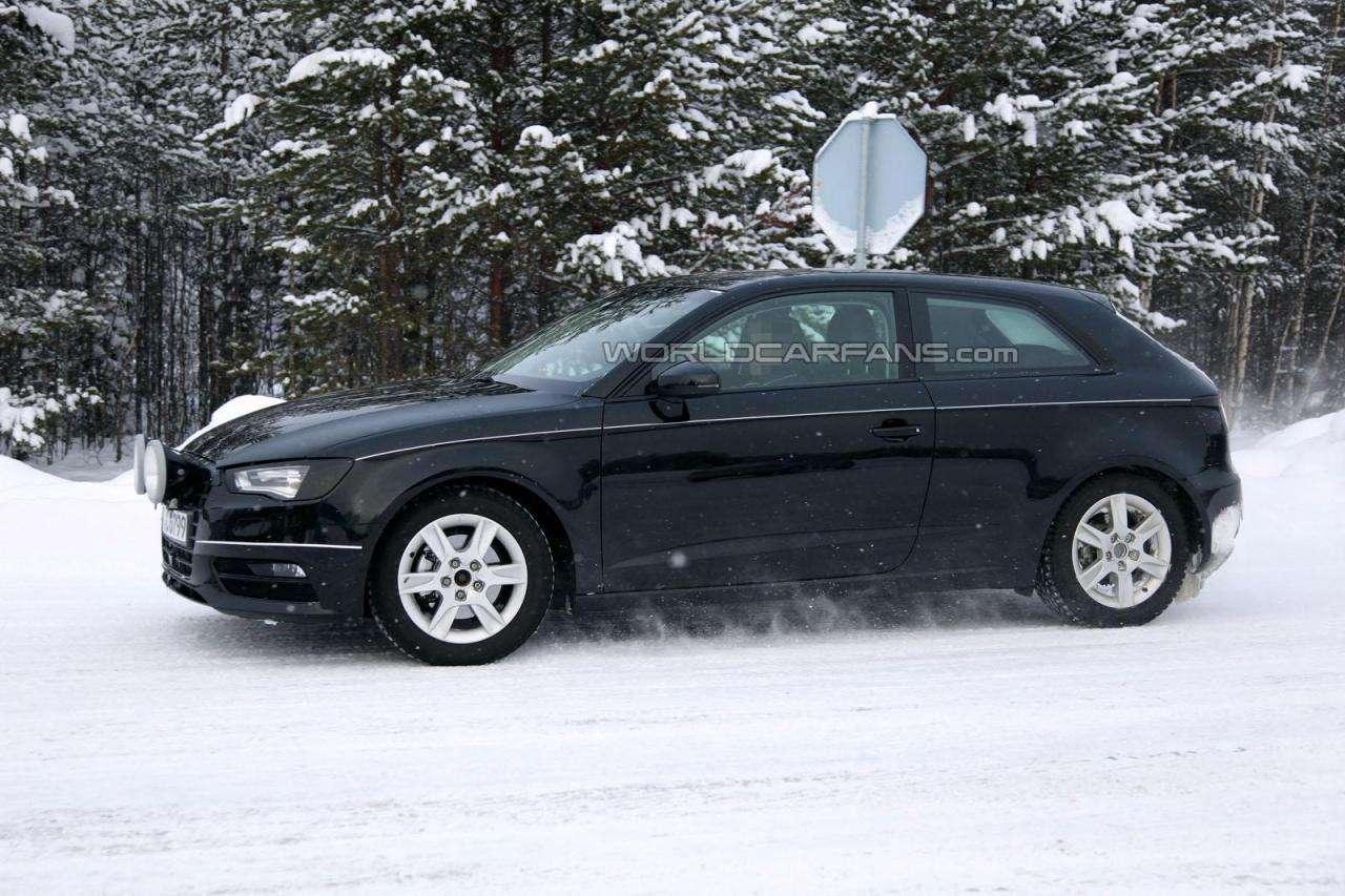 Audi A3 2012 fot szpieg styczen 2012