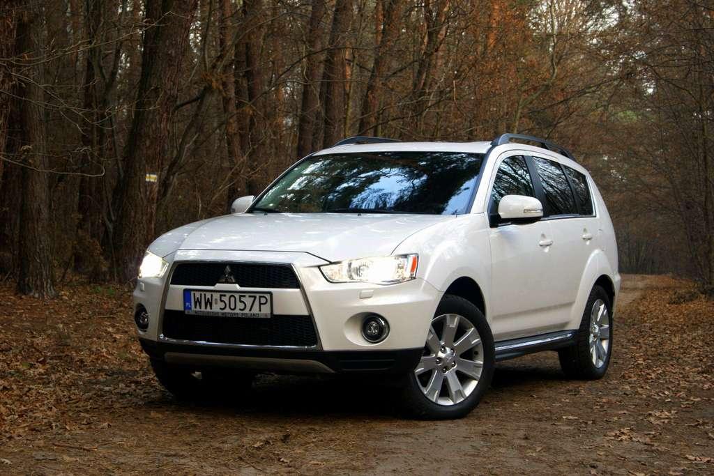 Mitsubishi Outlander test zuch styczen 2012