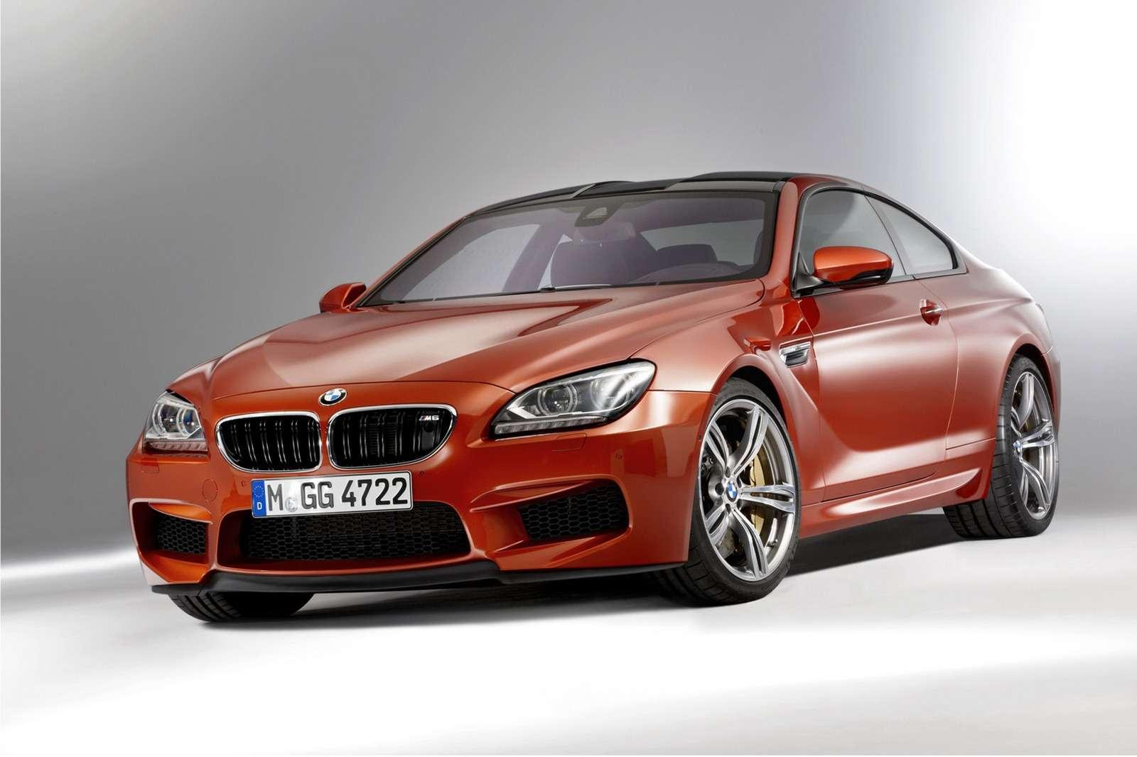 2013 M6 Coupe i cabrio zdjecia luty 2012