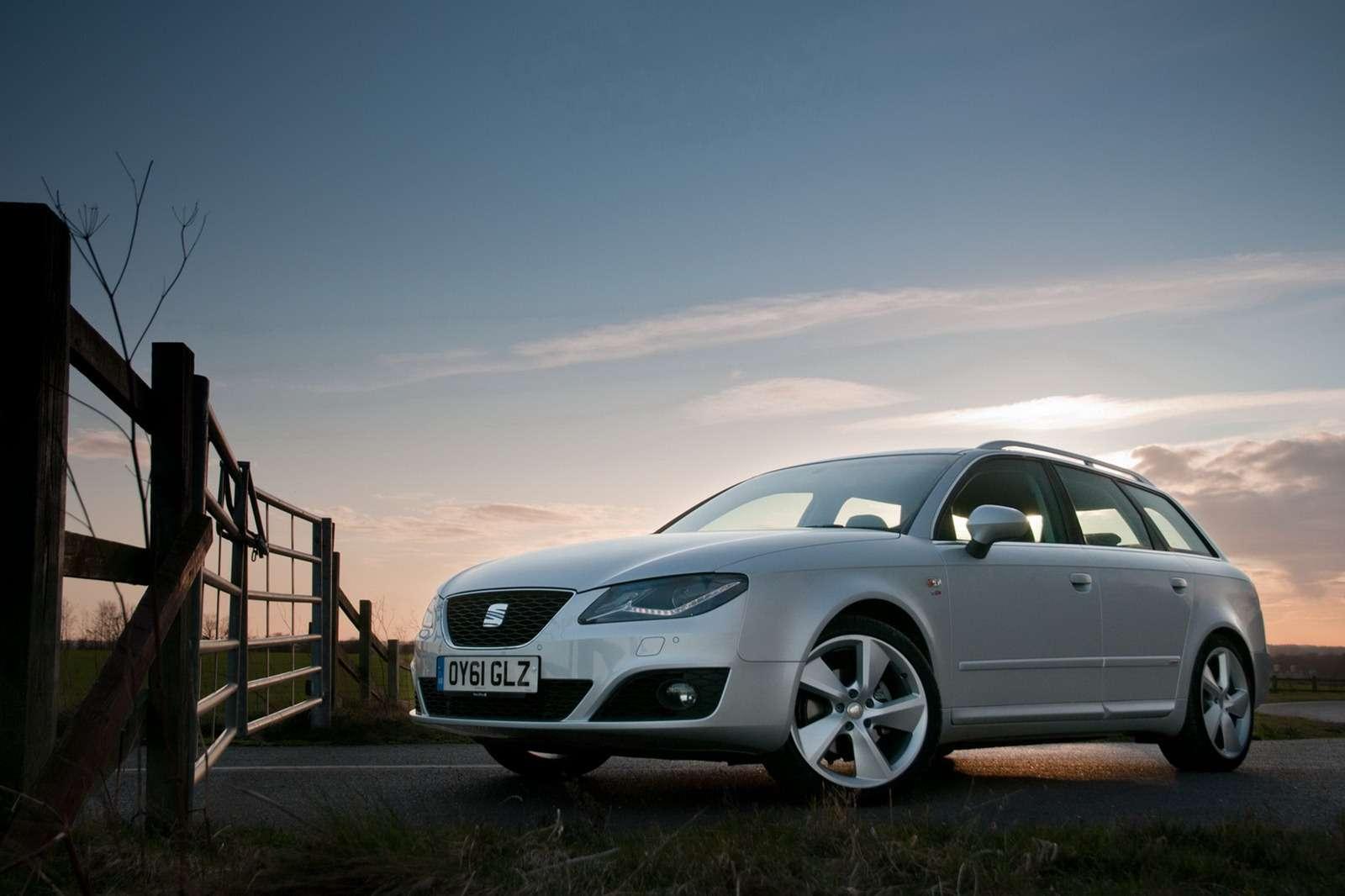 Seat Exeo po faceliftingu UK luty 2012