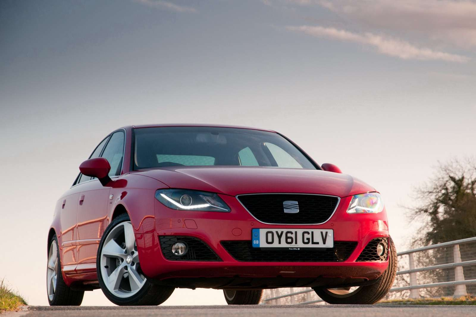 Seat Exeo po faceliftingu UK luty 2012
