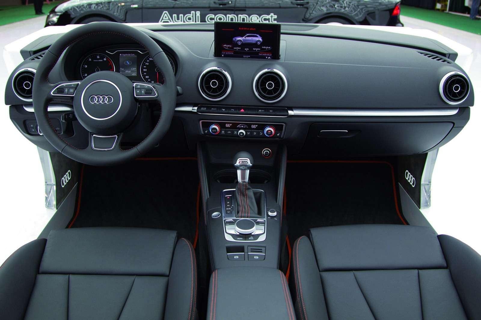 2013 Audi A3 first photo luty 2012
