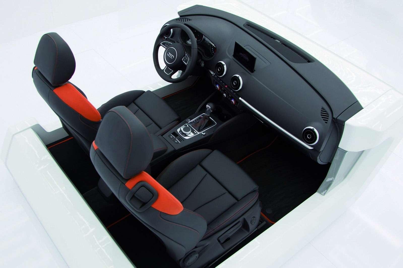 2013 Audi A3 oficjalnie