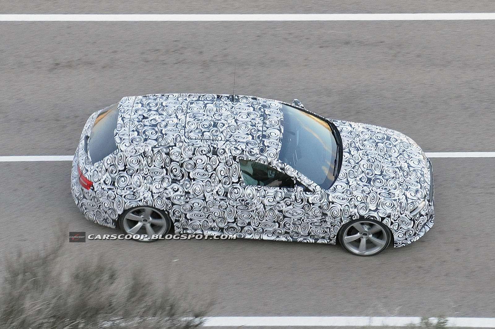 2013 Audi RS4 Avant fot szpieg luty 2012