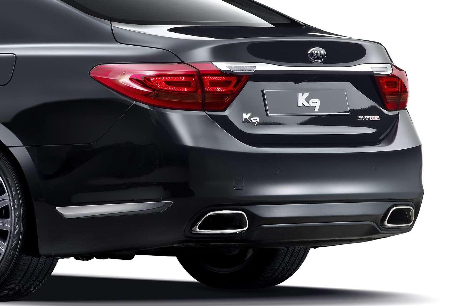 Nowa Kia K9 RWD pierwsze oficjalne