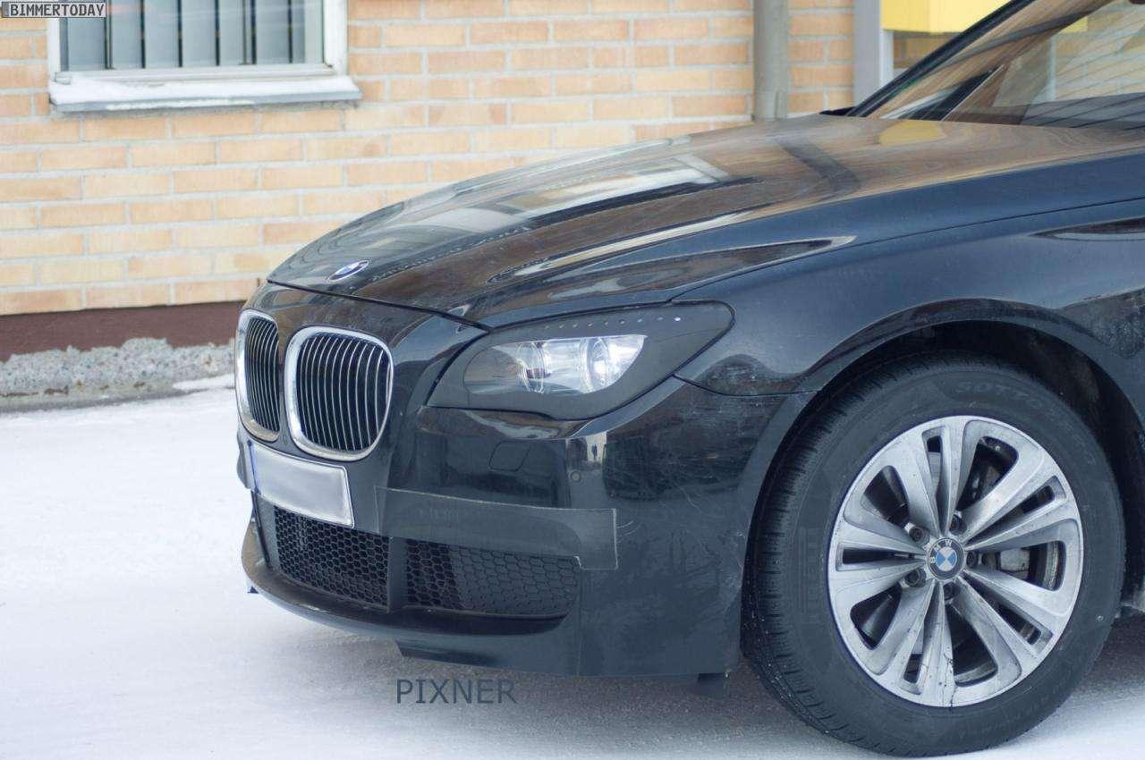 Nowe 2013 BMW serii 7 spy