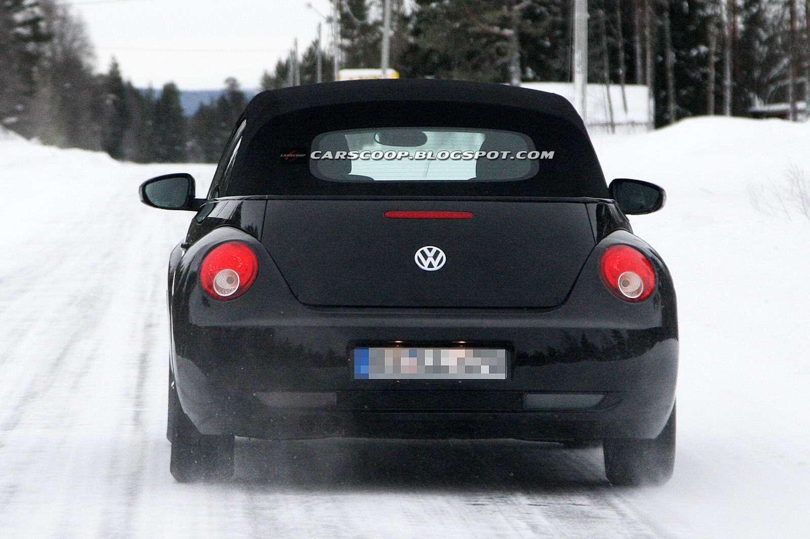 2013 Volkswagen Beetle Cabriolet szpiegowskie