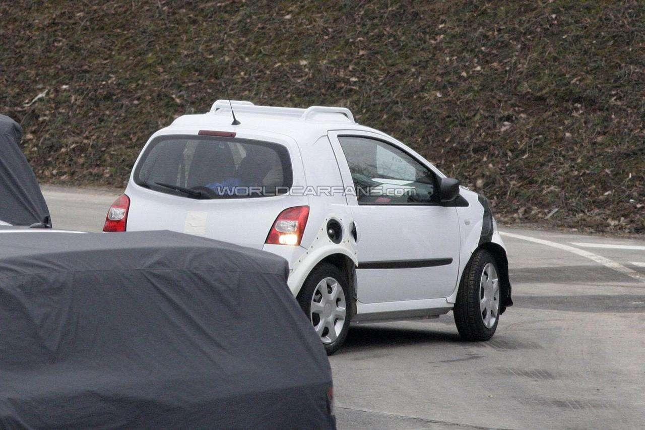 Nowa generacja Renault Twingo i Smarta ForTwo szpiegowskie
