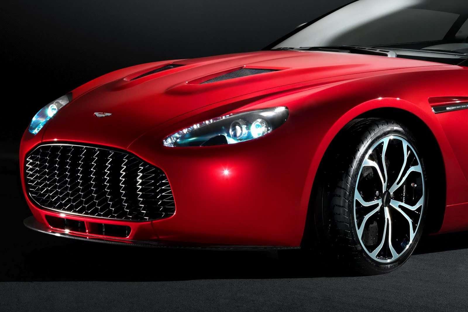 Aston Martin V12 Zagato fot luty 2012