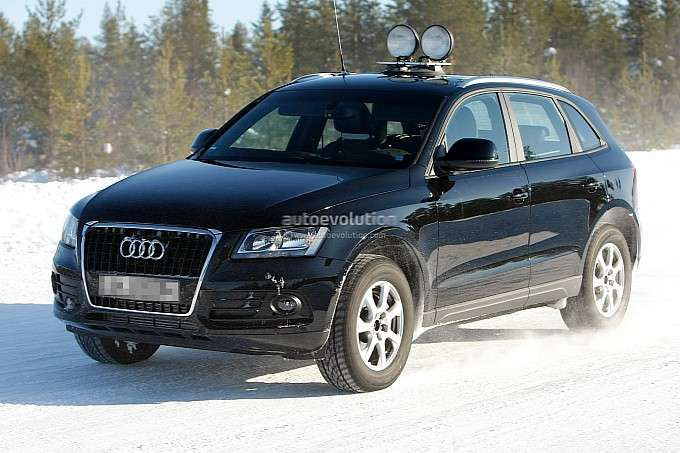 2013 Audi Q5 zdjęcia szpiegowskie