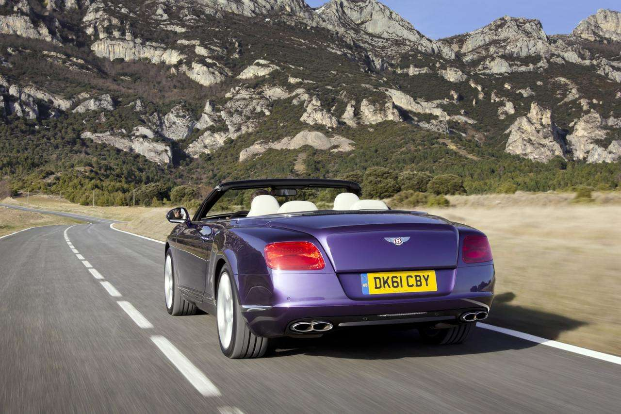 Bentley Continental GT i GTC V8