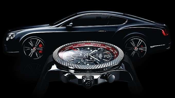 Bentley Continental GT V8 zegarek Breitling luty 2012