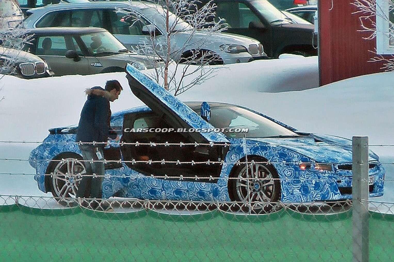 BMW i8 spy photos luty 2012