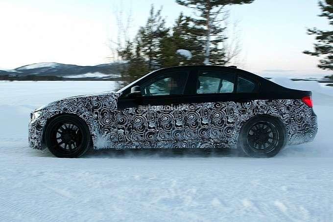BMW M3 F30 zdjęcia szpiegowskie