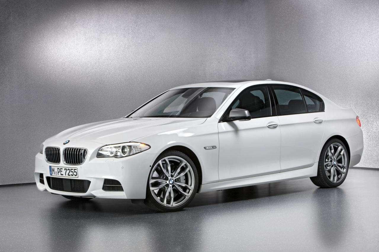 2012 BMW M550d xDrive sedan