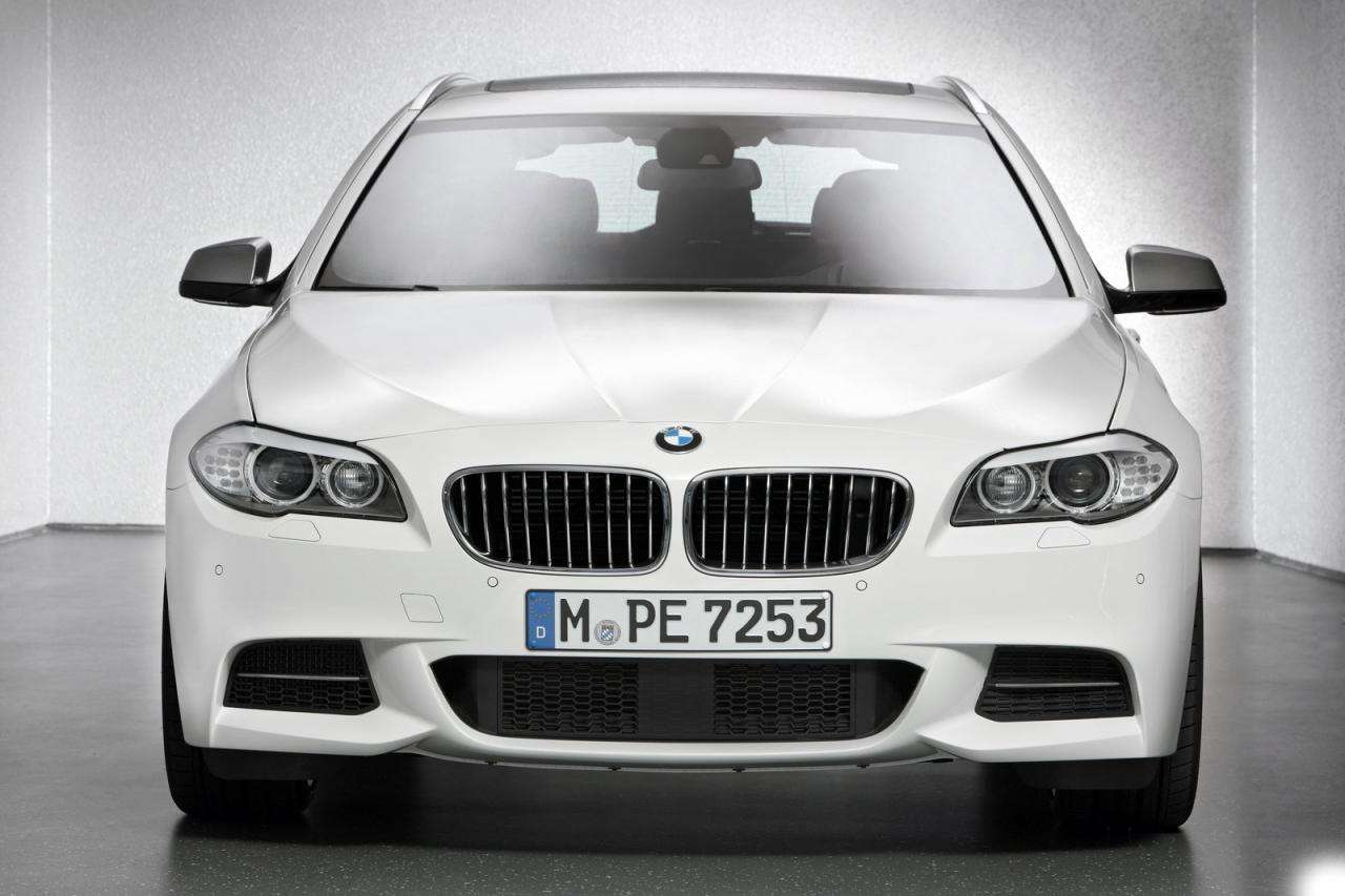 2012 BMW M550d xDrive Touring wagon