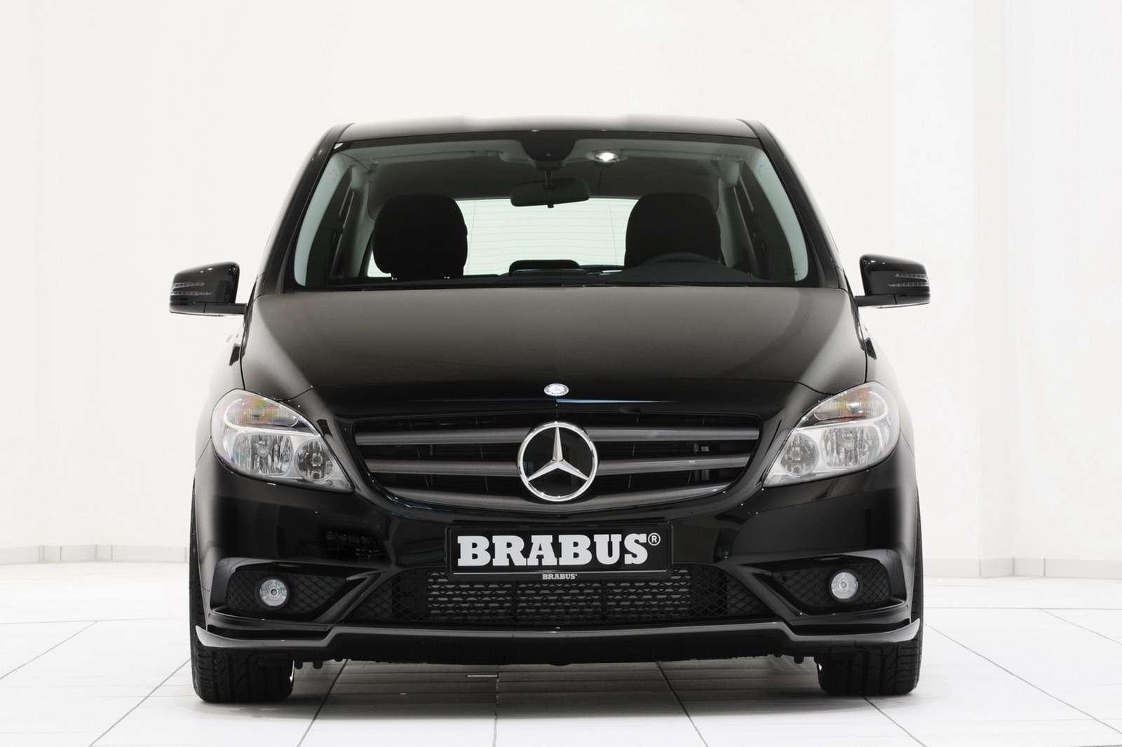 Mercedes klasy b pakiet brabus fot luty 2012
