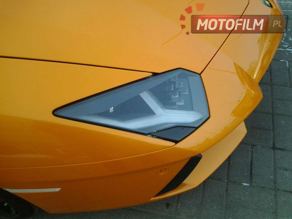 Lamborghini Aventador w Polsce Luty 2012