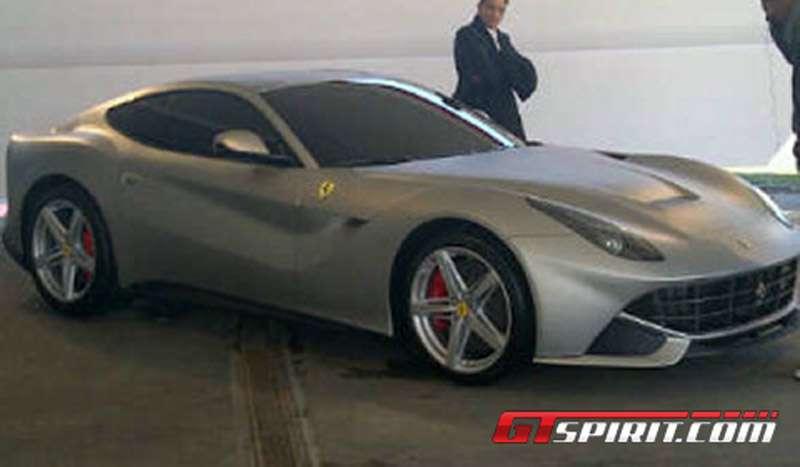 Ferrari F620 GT 2013 wyciek