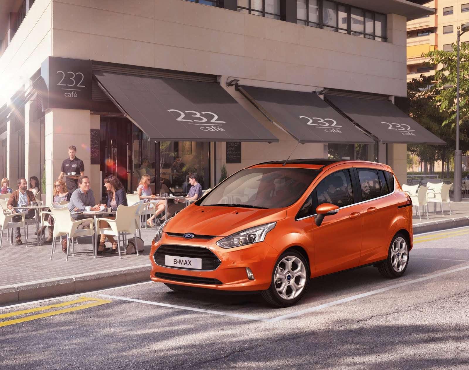 Ford B-MAX pierwsze zdjecie fot styczen 2012